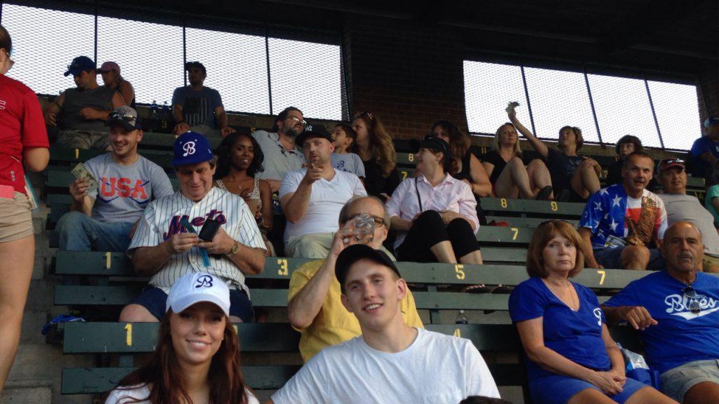 Bristol Blues Baseball Games